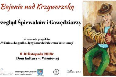 """Protokół komisji z Przeglądu Śpiewaków i Gawędziarzy """"Bajania nad krzyworzeką"""" 2018"""